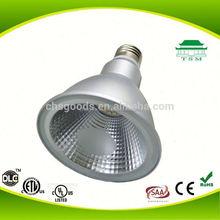 Smooth Aluminum Material Body LED Spotlights PAR30 LED UL