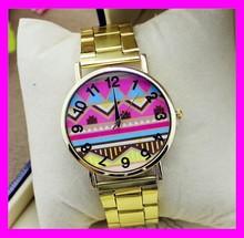 New arrival wholesale price fashion japan movt quartz geneva watch women HD1863