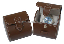 Eco-friendly leather travel case for business trip