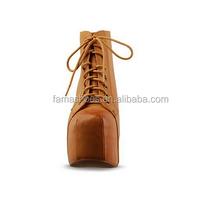 2016 studded high heels 14cm platform