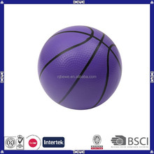 China manufacture hot selling custom purple basketball