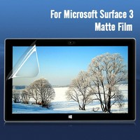 professional screen guard anti glare screen protector for microsoft surface3 Japan pet film