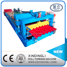 2015 Metal Sheet Roofing glazed steel tile roll forming machine