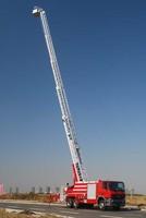 32m Benz aerial telescopic ladder fire truck