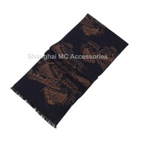 MC-0049, Silk brushed Chinese style scarf