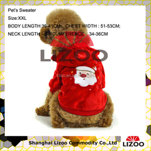 XXL large pet clothing Christmas