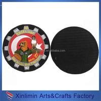 2015 New Fashion Embroidery Patch with Velcro Back
