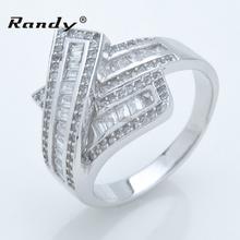 925 Sterling Silver Men's Finger Ring ,Zircon Men Ring Wholesale