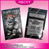 5g black giant spice potpourri bag/resealable zipper plastic bag
