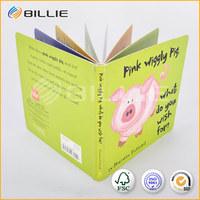 Cute Children Cardboard Book Printing