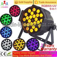 alibaba express cheap par can light price 24 *18w RGBWA UV zoom Led Par 64