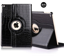 New Design For iPad 360 Degree Rotating Swivel Case Stand Leather Cover Shell Case Protective Cases