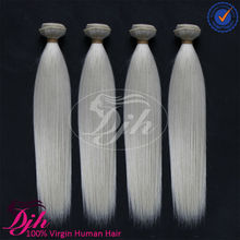 2015 New Product Best 8A Brazilian 100 human hair weaving, hair extension, virgin human hair white color natural straight hair