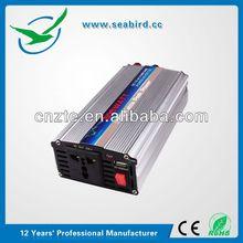 DC 12V 24V to DC 220V 3 Flat Pin Port 6000 watt power inverter, conversor de video