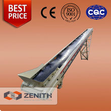 Zenith High performance Top Competitive Mobile Rubber Conveyor Belt Price