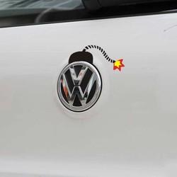 Volkswagen bomb Oxcart most beautiful car stickers cool stickers car stickers Transformers Bumblebee best car s