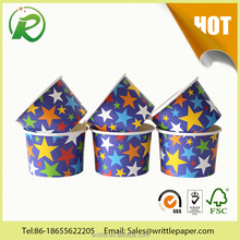 many functions food paper container/food grade custom logo printed ice cream yogurt coffee drink popcorn paper cup