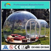 popular inflatable crystal bubble tent for sale/inflatable clear camping tent for sale/event bubble tent for sale