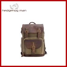 genuine leather camera bag handmade vintage bag for notebook DSLR