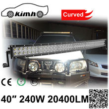 Long Life Span 240W 20400LM Double Rows led light bar 4wd light