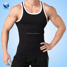 Fashion custom fitness men tank top /vest sublimated print