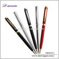 Printing logo metal pen cross pen patent metal slim cross pen