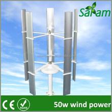 Residential 50W wind power generator