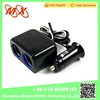 12V Auto Car Cigarette Socket 2 Way Splitter Adapter Charger (Black) e cigarette usb charger