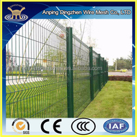modern vinyl clad garden fence metal protection fence