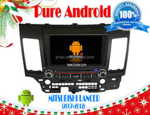 Pure Android 4.2 car dvd for MITSUBISHI Lancer (2007-2012) RDS,Telephone book,AUX IN,GPS,WIFI,3G,Built-in wifi dongle