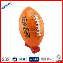 PVC Rubber Bladder handle american football fun ball