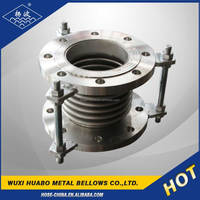 Yangbo stainless steel bellow pipe corrugated compensator