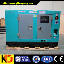 Convenient connection and humanized design 30kw 37.5kva soundproof diesel generator powered by CUMMINS engine
