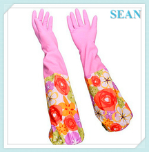 Hot Sell Low Price yellow cleaning gloves for promotion