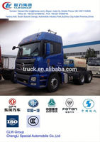 good sale foton semi tractor 6*4, tractor mounted cement mixers