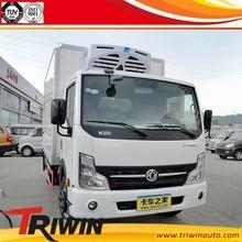 1ton 1.5ton 2ton 3ton china brand EQ5040XLC9BDDAC 4x2 115hp discount price cheap mini freezer cargo van