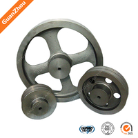 2015 Alibaba China supplier OEM&customized mechanical iron casting parts cast iron flywheel