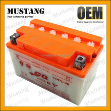 powerful 12V lead acid battery 12 volt 7ah for 12N 7L-4B motorcycle