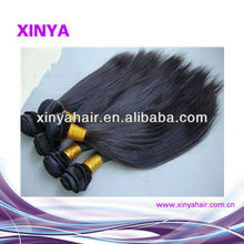 Natural looking human hair Peruvian Remy extension hair in pakistan