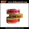 New Material Colorful Red and White Caution Tape Popular in World