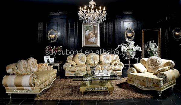 10052 High-End saudi arabische sofa königlichen wohnmöbel ...