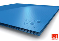 UV protection plastic corrugated adverting board