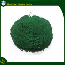 Iron oxide green for acid stain concrete