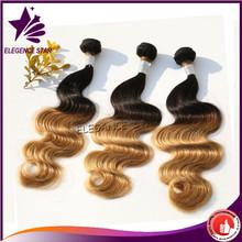 High quality full cuticle long hair length body wave virgin brazilian hair extension