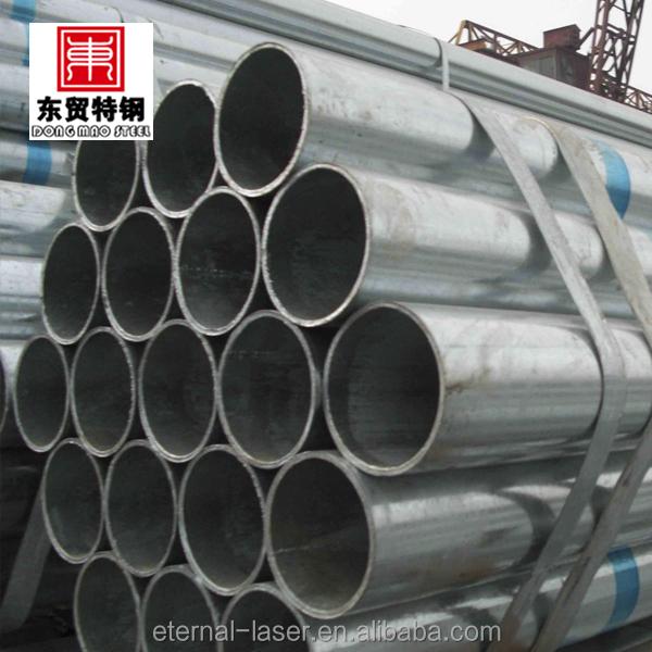 Estrutura de aço de construção fence post tubo de aço galvanizado