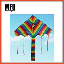 MFU rainbow delta kids kite, children kite, flying kite