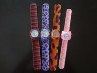 high quality vogue silicone watch and kids slap band watches and smart watch