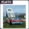 22ft inflatable emergency trcuk slide, giant inflatable slide for children