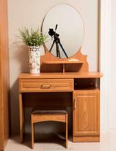 Factory Wholesale Price Teak Dresser 30cm Mirror Round