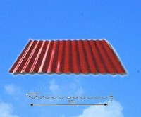 Color Corrugated Metal Steel Sheet For Roofing made in China